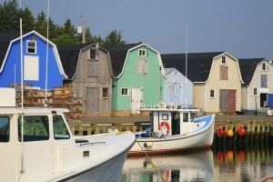 Canada Desk - Lobster Boats