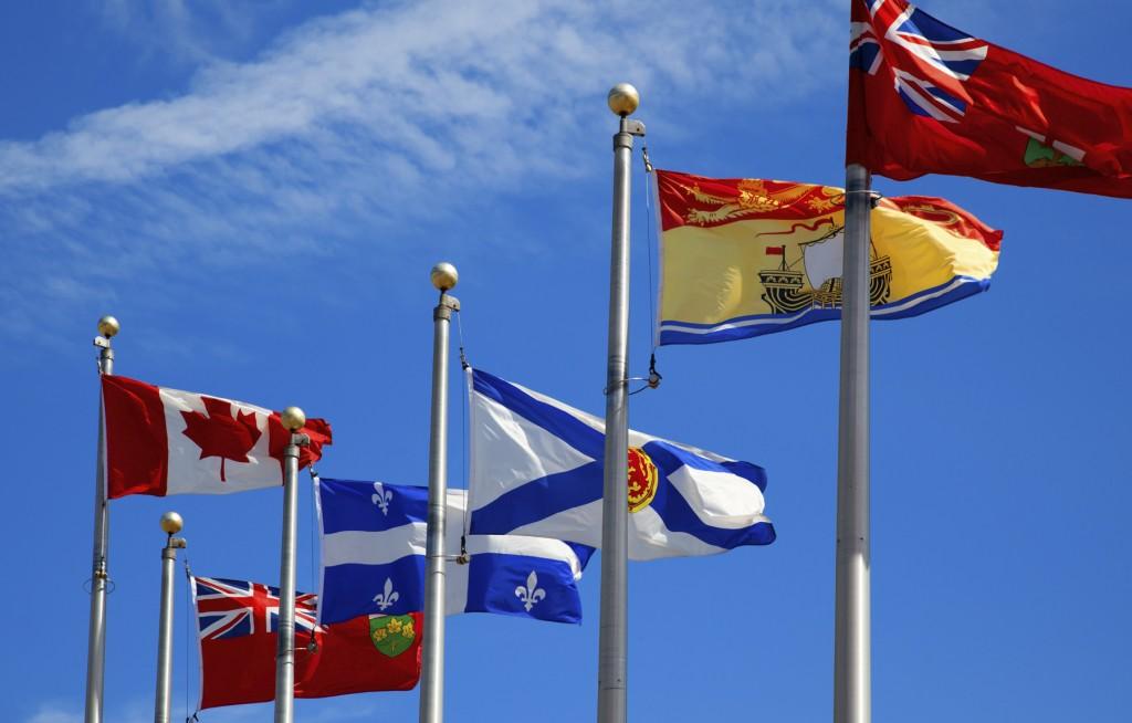 Canada Desk - flags image