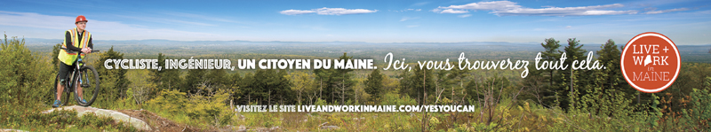 Mountain Biker Banner