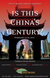 2019 Camden Conference: Is This China's Century? - Maine